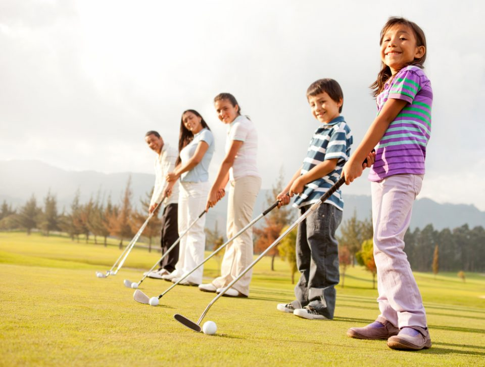 stage de golf junior toussaint
